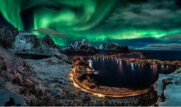City Lights Cruise Northern Lights