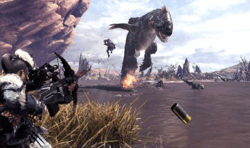 Monster Hunter World REVIEW scores   Capcom adventure is a hit with     Monster Hunter World PS4  Xbox One screenshot