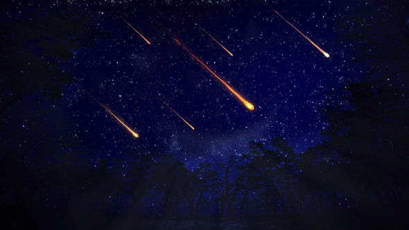 Meteor Shower Lights