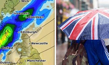 HD Decor Images » UK WEATHER  Lightning radar map shows terrifying storm over Britain     UK weather forecast cold front rainfall UK heatwave 2018 met office cloud  low pressure
