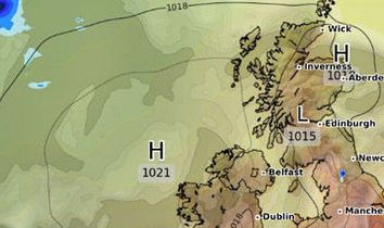 HD Decor Images » UK weather  What s the weather forecast tomorrow  Will it rain     Weather Map for the UK