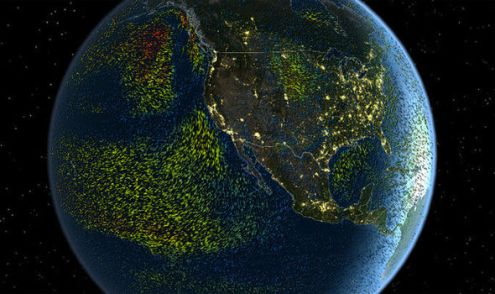 Watch world s weather LIVE  Incredible 3D map shows rain and     weather globe live