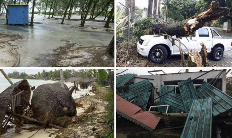 Tropical Storm Jose Path