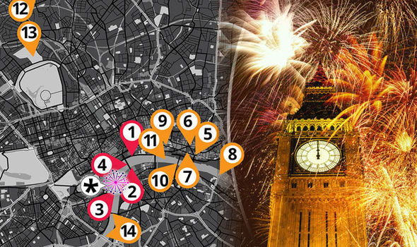 Where to watch the New Year s Eve fireworks in London for free     new years eve 2016 london fireworks