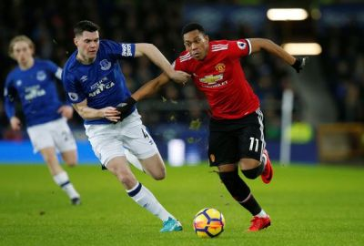 Everton 0-2 Manchester United AS IT HAPPENED: Martial ...