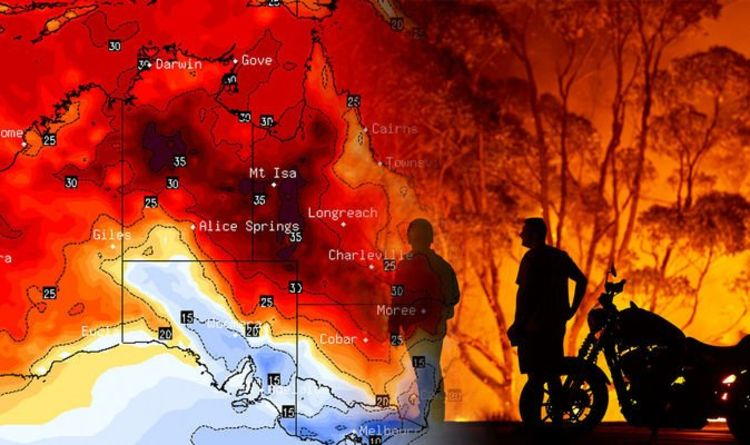 Map Fires Australia Today
