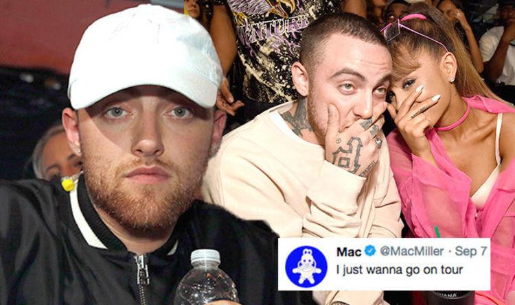 Grande Miller Date And Mac Did Ariana