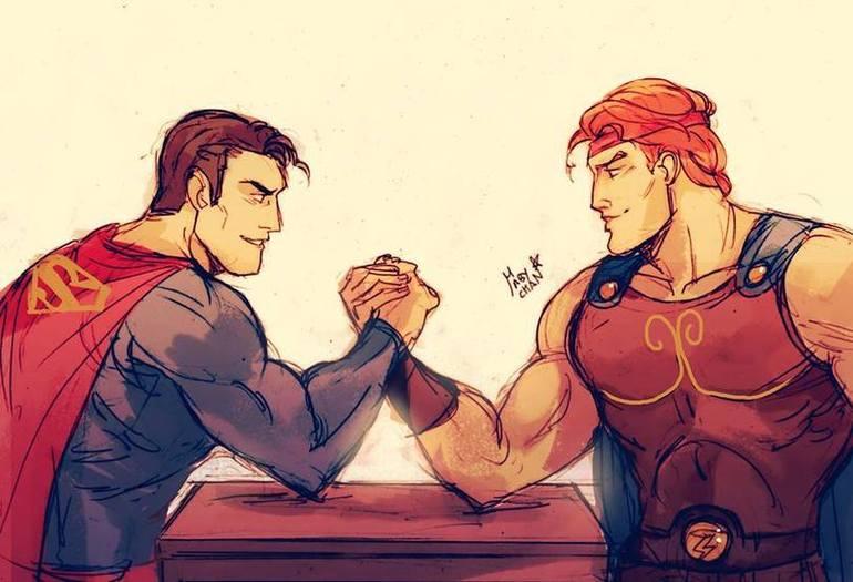 hercules vs superman - 811×567