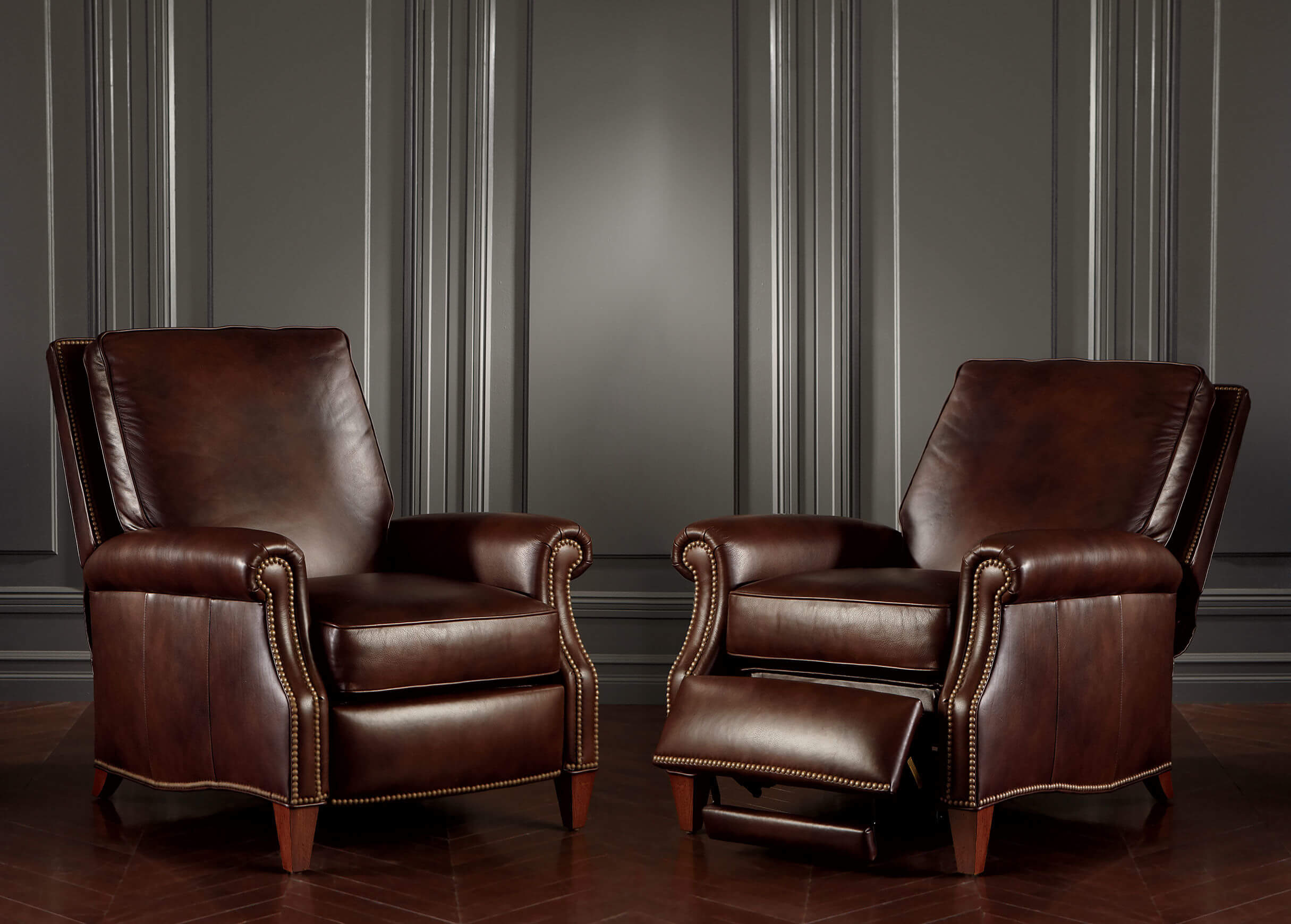 Leather Pull Out Sofa