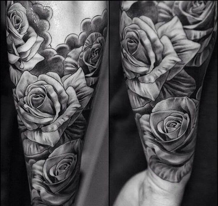 Tattoo Mom Rose Word Stem