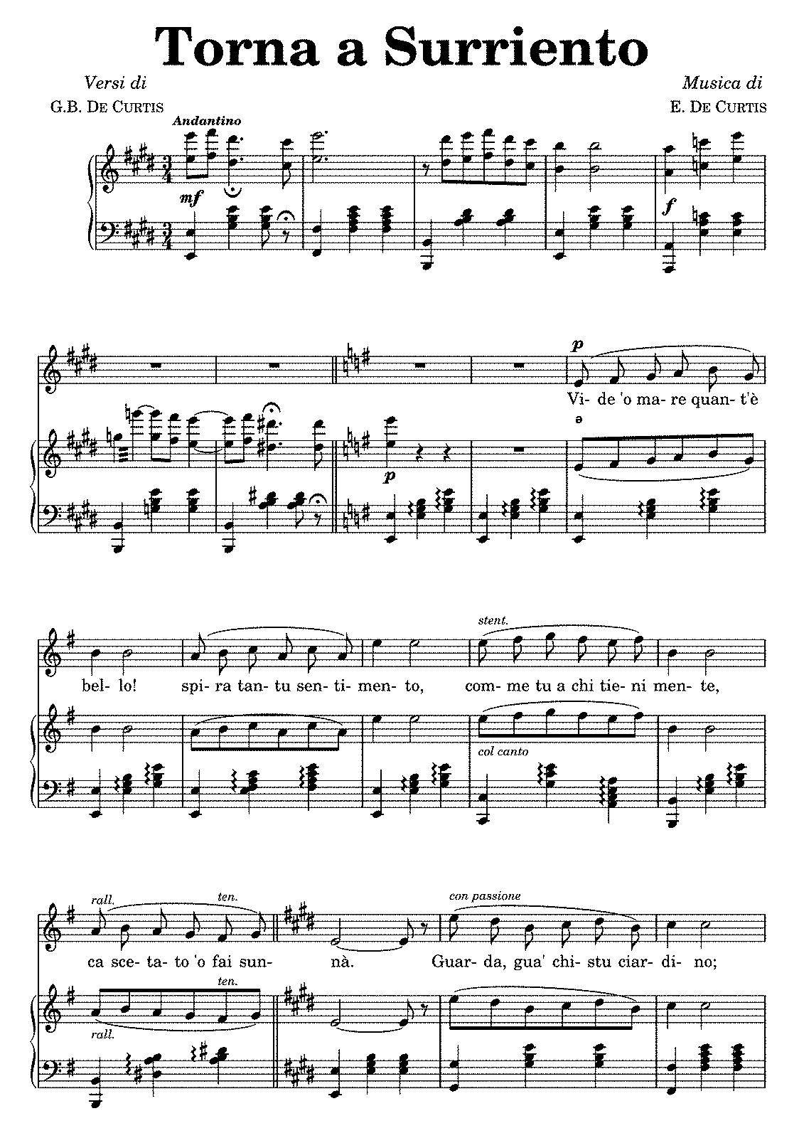 Yiruma Love Hurts Sheet Music