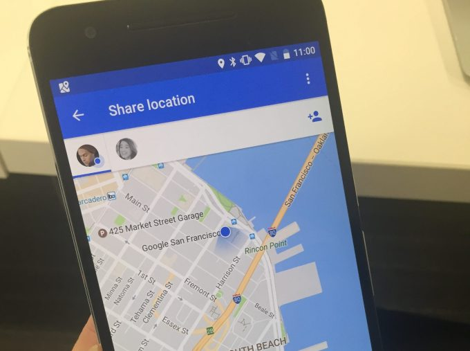 Google Maps for iOS Launching Real Time Location Sharing Like Find     Google maps sharing