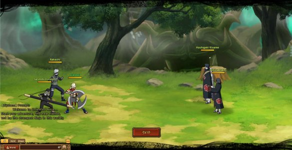 Unlimited Ninja   Free Naruto RPG Online Game   Joyfun com Screenshots