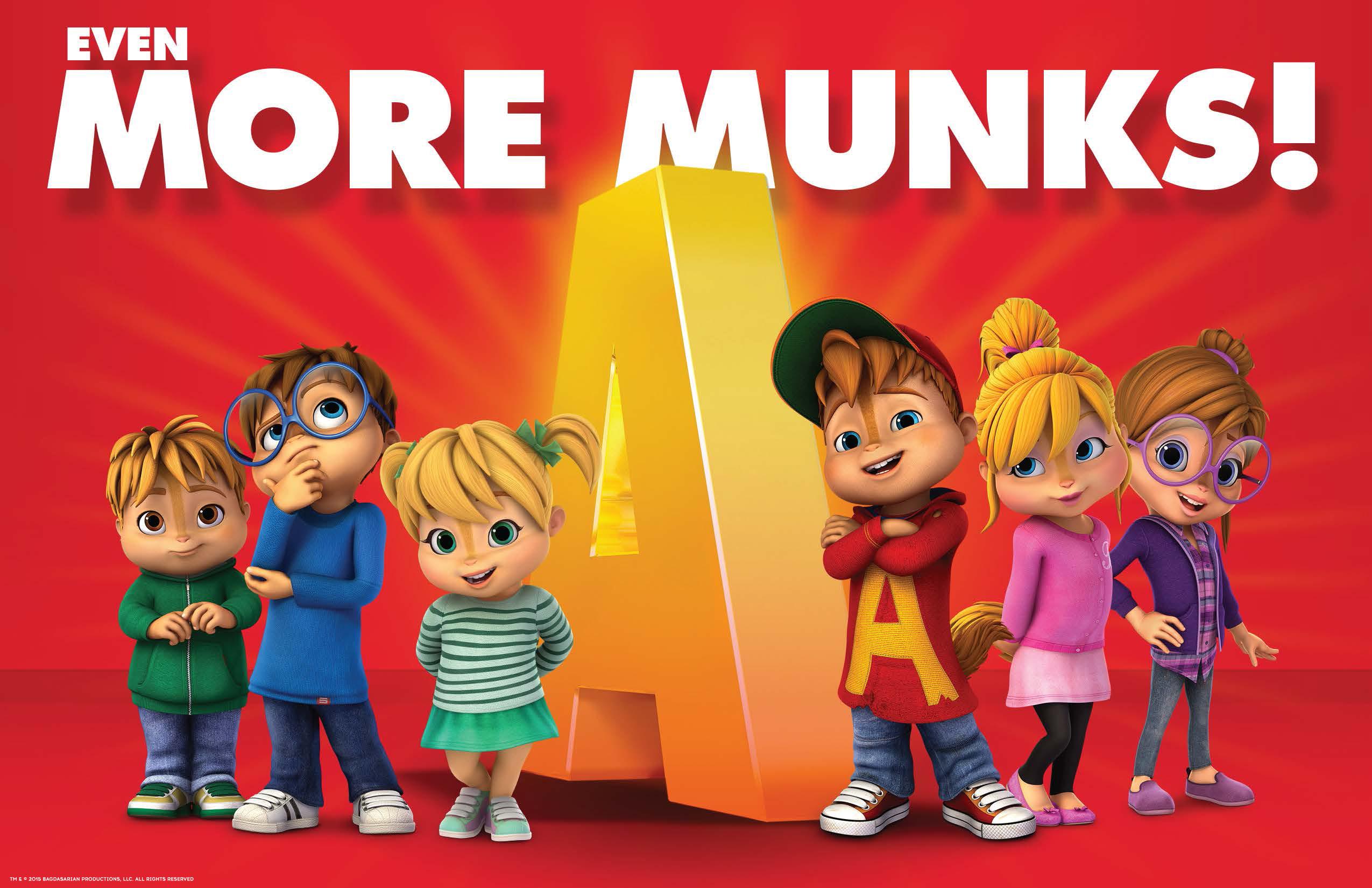 2015 Alvin Chipmunks Cartoon And