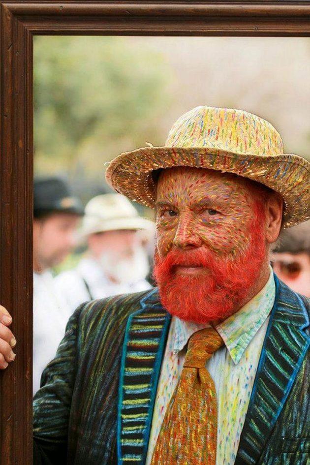 Trang phục Halloween: Van Gogh