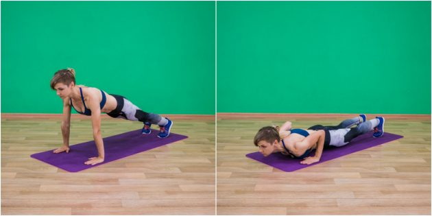 Home Training Program: Classic Pushup