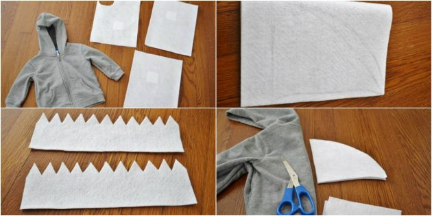 How to make a shark costume with your own hands