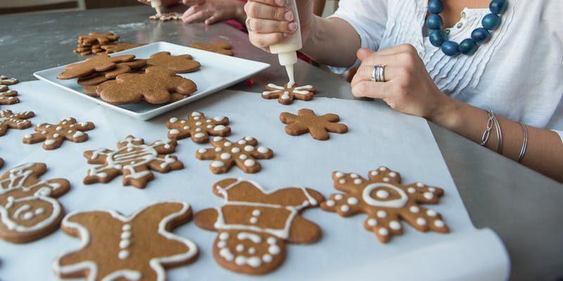 Como decorar um cookie clássico de Natal
