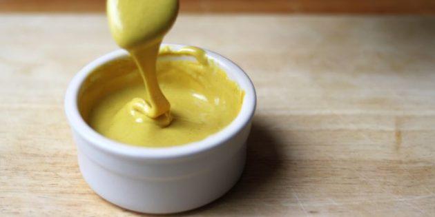 Mostarda doce com mel
