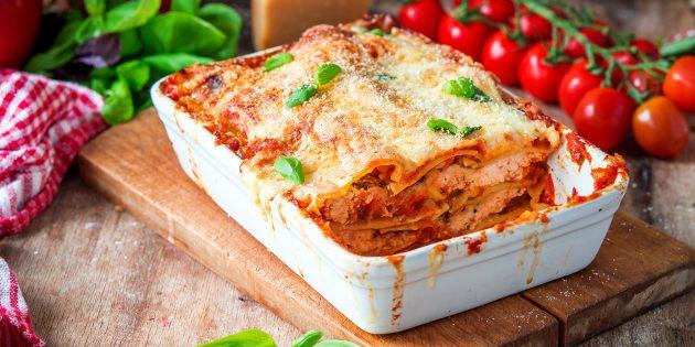 Rețete: Lazagna cu ciuperci și brânză