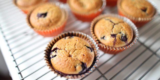 Vanilja muffinsseja