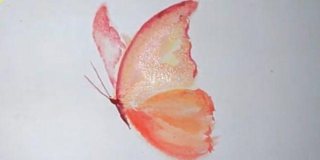 Draw burgundy taurus with mustache