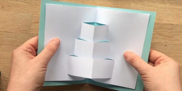 Espandi strisce e carta aperta