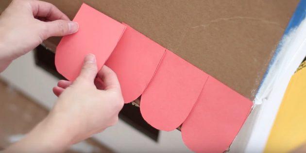 Casa para o gato faz você mesmo: faça uma telha de papel