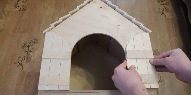 Kattehus med egne hænder: Stick døre