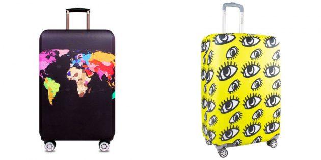 スーツケースの保護カバー