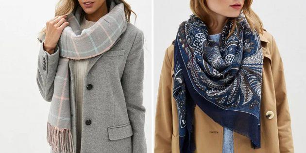 誕生日のためにママを与えるもの:美しいハンカチまたはスカーフ