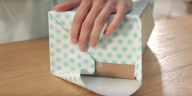 สร้างขอบของกระดาษ
