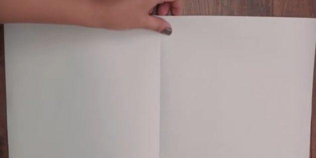 กระดาษงอ