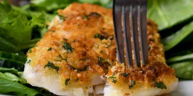 Como cozinhar Mixtai no forno com salsley e sal laranja