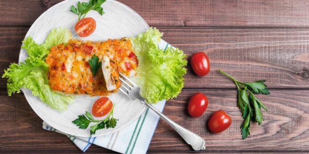 Receitas: Mixtai no forno com tomates e queijo