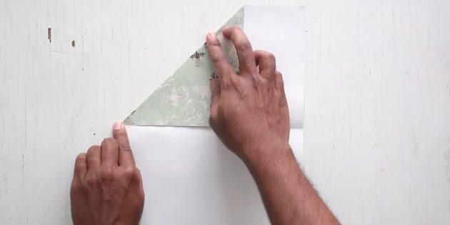 Zarf Nasıl Yapılır: Üst köşeyi kontrol edin