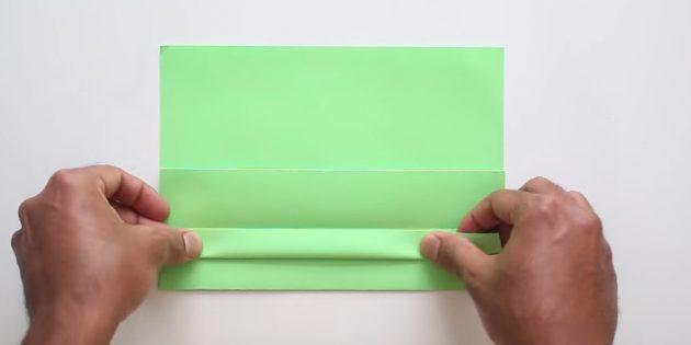 Өз қолыңызбен конверт желімсіз: жолақ жасаңыз