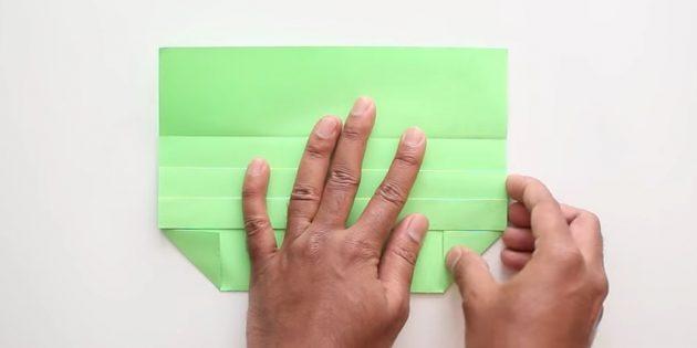конверт своими руками без клея: загните уголки