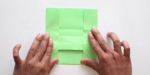 Өз қолыңызбен конверт желімсіз: бүйір жағын жасаңыз