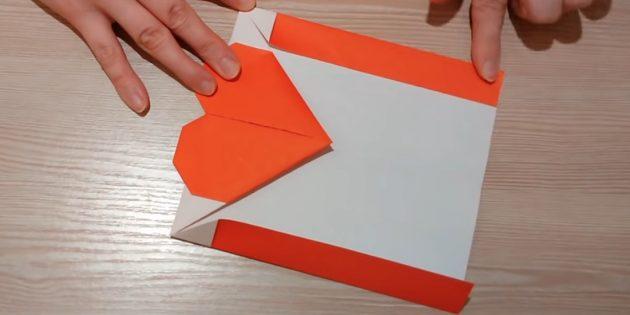 Kağıdı devralın ve yan kenarları başlatın