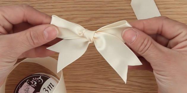 古典的な弓を結ぶ方法