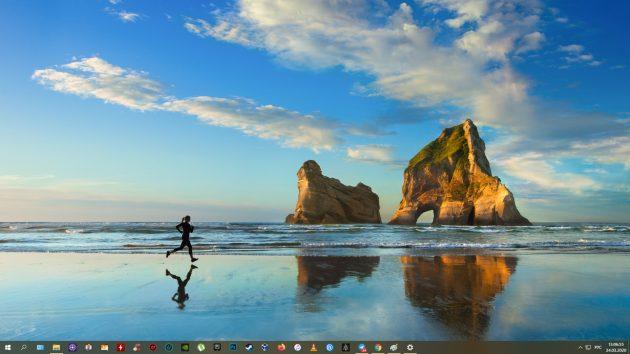 Windows 10-да скриншотты қалай жасауға болады: Win + Pratsc
