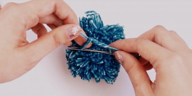Cách làm Pompon: Buộc chủ đề