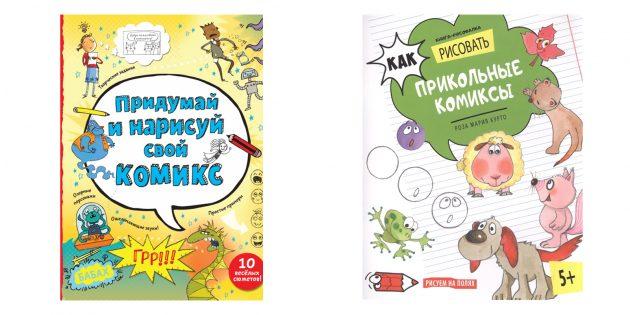 """Geschenken Jongen: boek """"Kom naar en teken je strip"""""""