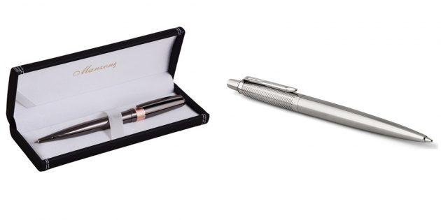 Что подарить учителю на Новый год: Ручка