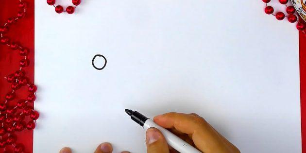 Piirtää pieni ympyrä