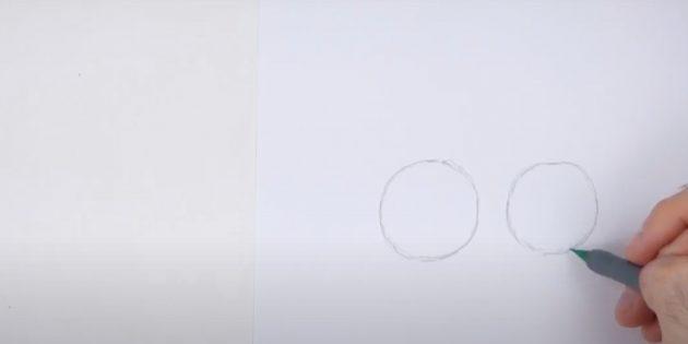 Kuinka piirtää hirvi: Piirrä toinen kierros