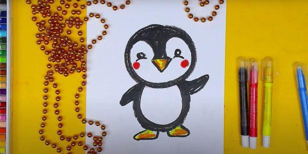 रंग पेंगुइन