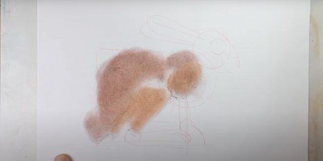 Hud leddet og delen af benet