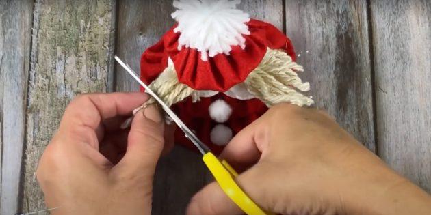 Жаңа жылға арналған сыйлықтар Өзіңіз жасаңыз: Шаш